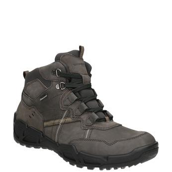 Kožená obuv v Outdoor stylu weinbrenner, šedá, 896-2671 - 13
