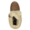 Kotníčková obuv s kožíškem bata, hnědá, 591-4618 - 26