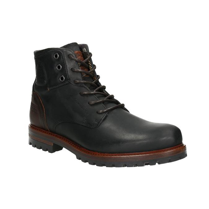 Kotníčková pánská obuv bata, černá, 896-6665 - 13