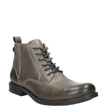 Kotníčková pánská Ombré obuv bata, šedá, 896-2684 - 13