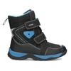 Dětská zimní obuv na suché zipy mini-b, černá, 491-6653 - 19