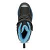 Dětská zimní obuv na suché zipy mini-b, černá, 491-6653 - 17