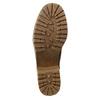 Dámská zimní obuv s přezkou bata, hnědá, 699-4637 - 19
