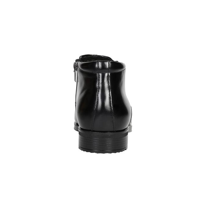 Kotníčková pánská obuv se zateplením conhpol, černá, 894-6698 - 16