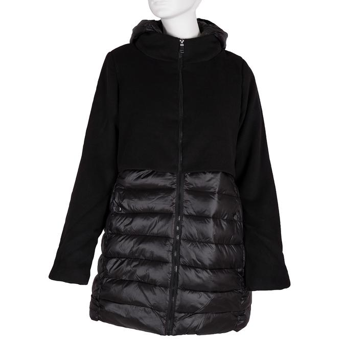 Dámská bunda s kapucí bata, černá, 979-6163 - 13