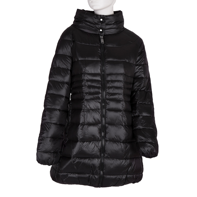 Dámská prošívaná bunda bata, černá, 979-6166 - 13