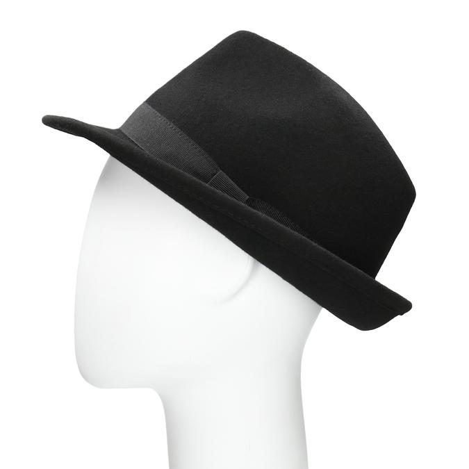 Černý klobouk bata, černá, 909-6674 - 26