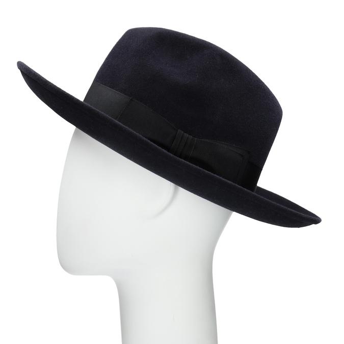 Tmavě modrý klobouk tonak, modrá, 909-9653 - 26