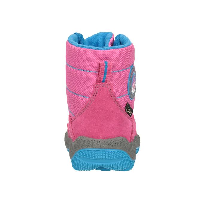 Růžová dívčí zimní obuv superfit, červená, 293-5023 - 16