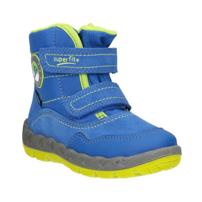 Dětská zimní obuv s výraznou podešví superfit, modrá, 293-9022 - 13