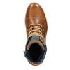 Pánská kotníková obuv bata, hnědá, 896-3669 - 15