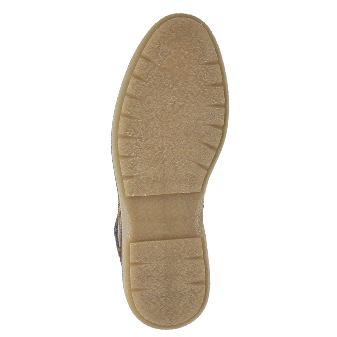 Pánská kotníková obuv bata, hnědá, 896-3669 - 17