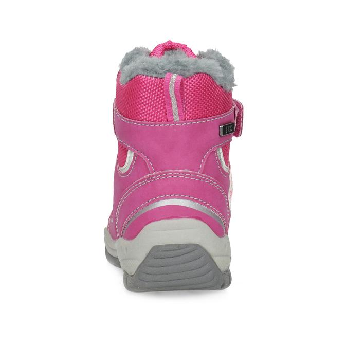Růžové dětské sněhule bubblegummers, růžová, 199-5602 - 15
