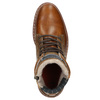 Pánská kožená obuv hnědá bata, hnědá, 896-3666 - 26