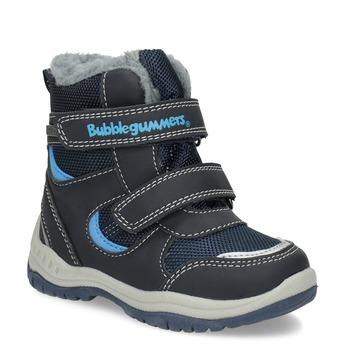 Dětské zimní boty s kožíškem bubblegummers, modrá, 199-9602 - 13