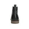 Kožená kotníčková obuv se zateplením bata, černá, 896-6662 - 17