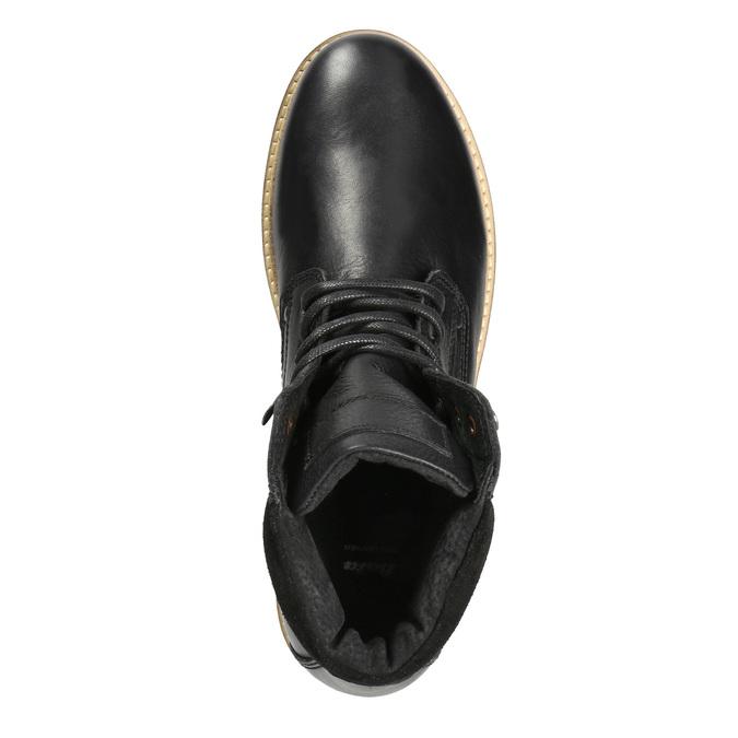 Pánská zimní obuv bata, černá, 894-6692 - 15