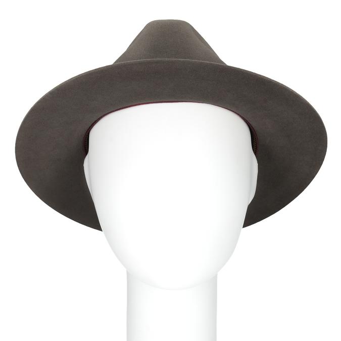 Pánský klobouk z králičí srsti tonak, hnědá, 909-3650 - 16