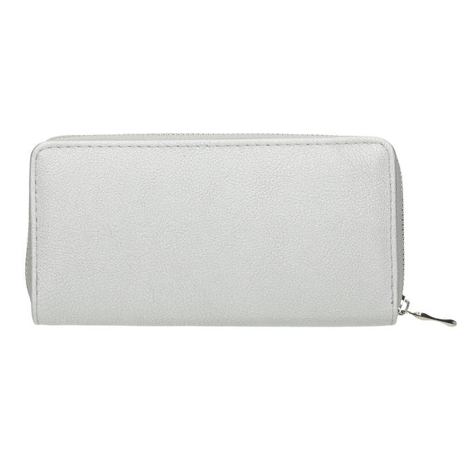 Stříbrná dámská peněženka bata, stříbrná, 941-2155 - 16