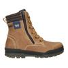 Kotníčková dětská zimní obuv weinbrenner-junior, hnědá, 496-8611 - 26