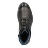 Kožená pánská zimní obuv bata, šedá, 896-2682 - 15