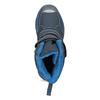 Dětská zimní obuv na suché zipy mini-b, modrá, 491-9653 - 17