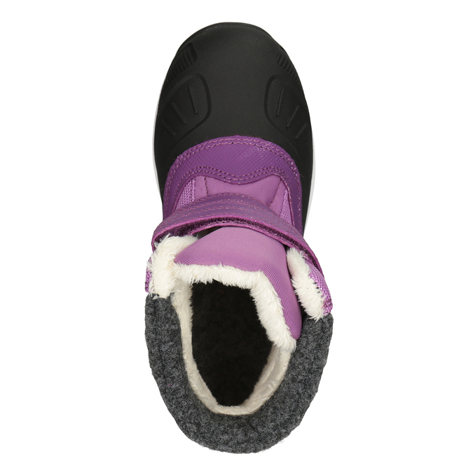 Fialové dívčí sněhule icepeak, fialová, 399-5018 - 15