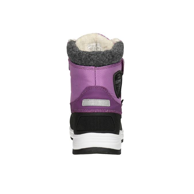 Fialové dívčí sněhule icepeak, fialová, 399-5018 - 16