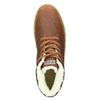 Pánská kožená zimní obuv napapijri, hnědá, 896-3042 - 26