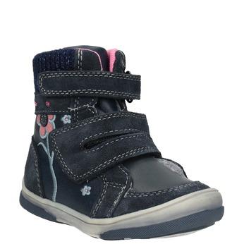 Dětská kožená zimní obuv bubblegummers, modrá, 124-9602 - 13