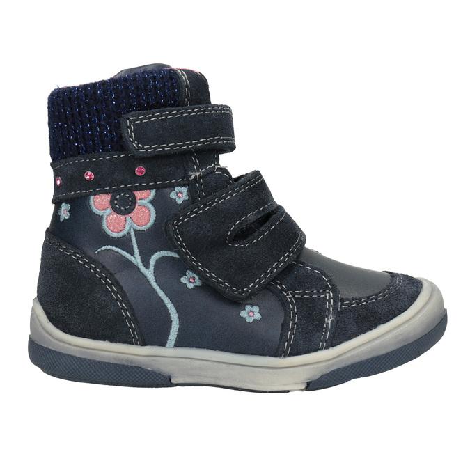 Dětská kožená zimní obuv bubblegummers, modrá, 124-9602 - 26