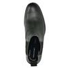 Pánská kožená Chelsea obuv rockport, černá, 896-6039 - 26