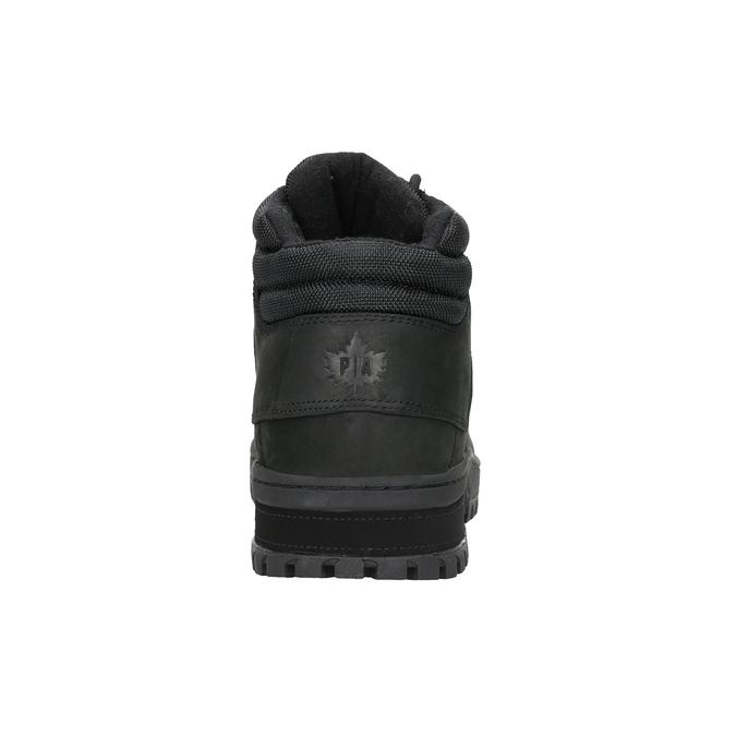 Černá pánská kotníčková obuv k1x, černá, 806-6495 - 16