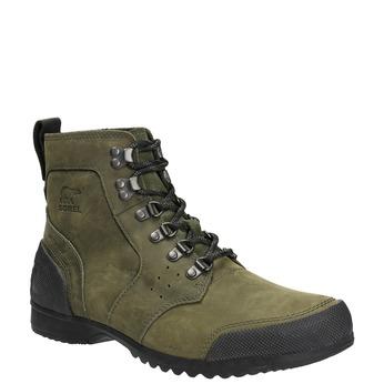 Kožená pánská zimní obuv sorel, hnědá, 826-3067 - 13