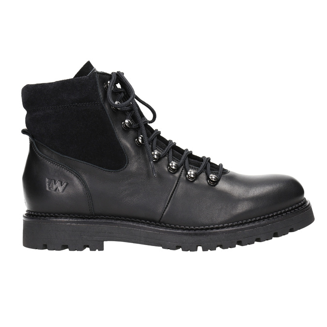 Dámská zimní obuv weinbrenner, černá, 596-6672 - 26