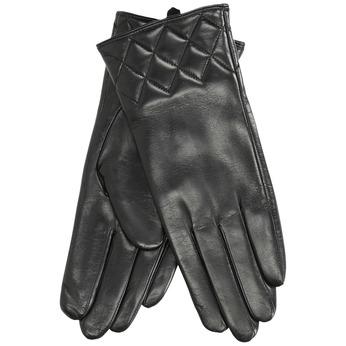 Dámské kožené rukavice černé bata, černá, 904-6131 - 13