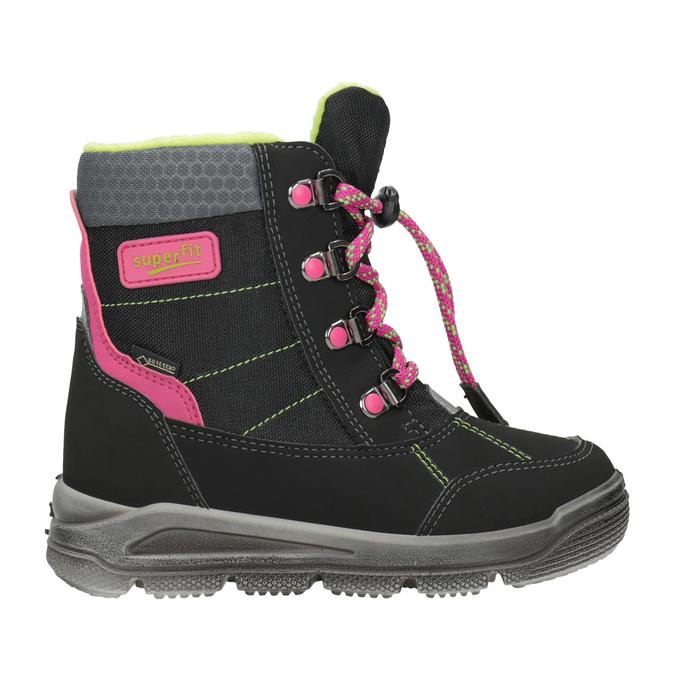 Dětská zimní obuv superfit, černá, 399-6029 - 16