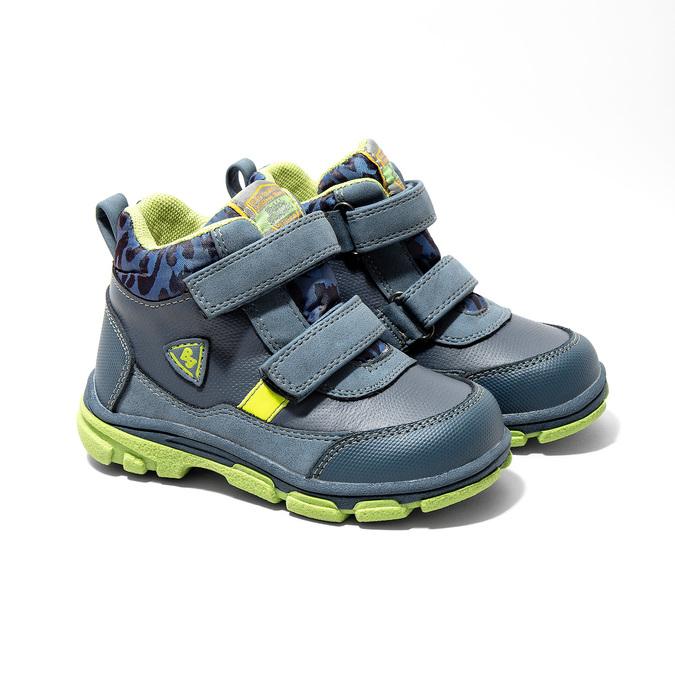 Kotníčková dětská obuv bubblegummers, modrá, 111-9623 - 26