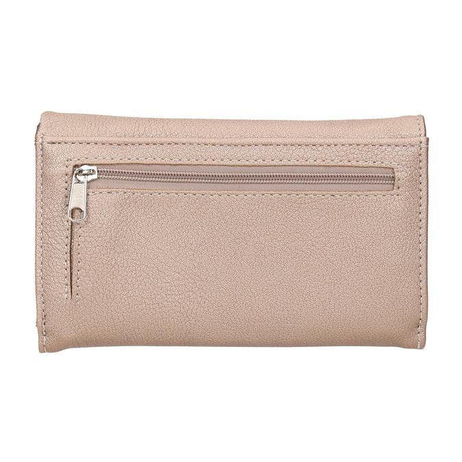 Dámská peněženka s prošitím bata, červená, 941-5156 - 16