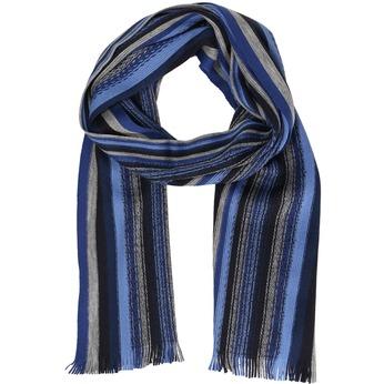 Modrá pánská šála s proužky bata, modrá, 909-9634 - 13