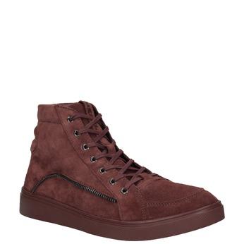 Kotníčková pánská obuv diesel, červená, 803-5629 - 13