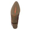Kožené kotníčkové kozačky rockport, hnědá, 716-3054 - 19