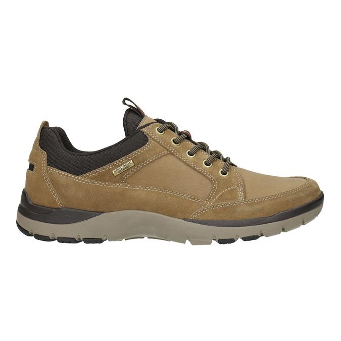 Pánská kožená obuv rockport, hnědá, 826-3024 - 15
