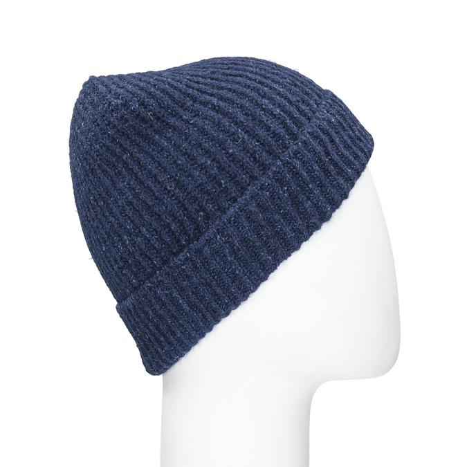 Pletená čepice s lemem bata, vícebarevné, 909-0677 - 16
