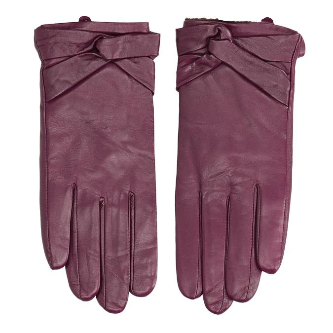 Dámské kožené rukavice bata, vícebarevné, 904-0109 - 26