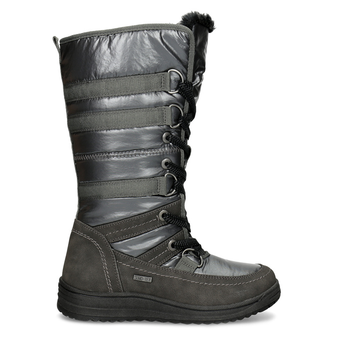 Dámské zimní sněhule bata, šedá, 599-2619 - 19