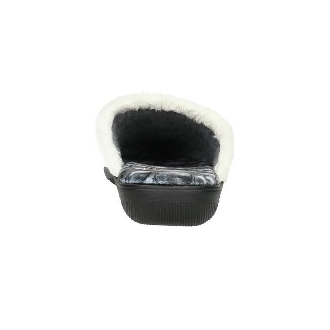Dámská domácí obuv šedá bata, šedá, 579-2622 - 17