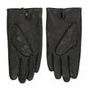 Kožené černé rukavice bata, černá, 904-6130 - 16