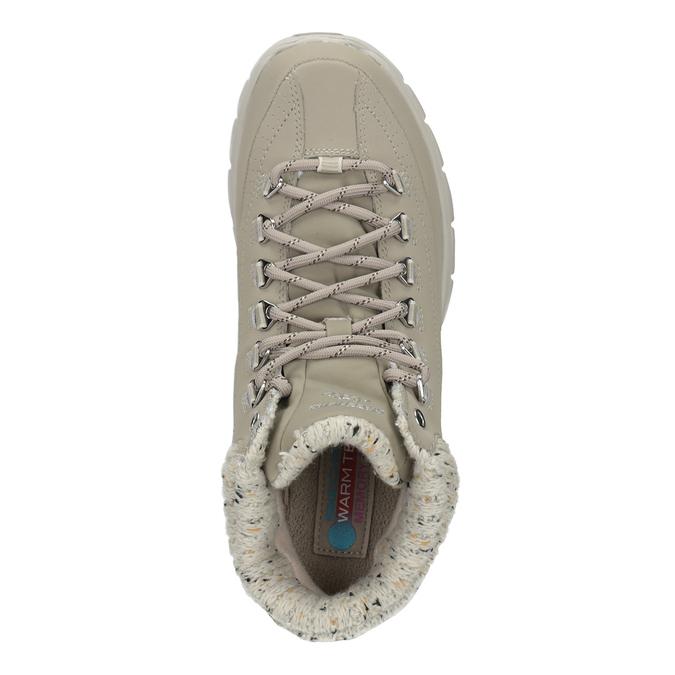 Dámská kotníčková obuv skechers, šedá, 501-2314 - 17