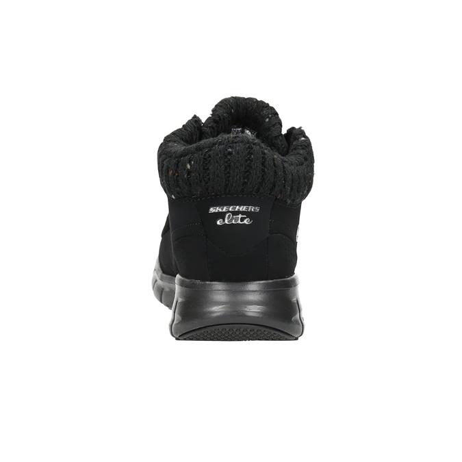Dámská kotníčková obuv skechers, černá, 501-6314 - 15